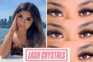 Lash Crystals and Owner Crystal Zubair