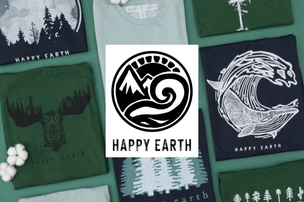 Sustainable brand Happy Earth Apparel