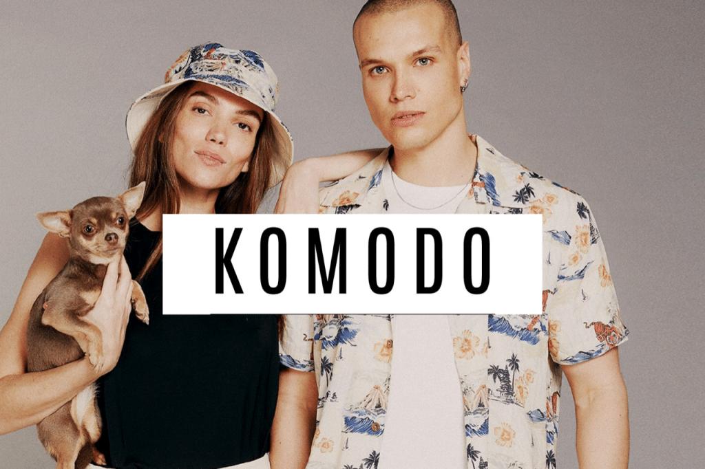 Sustainable brand Komodo