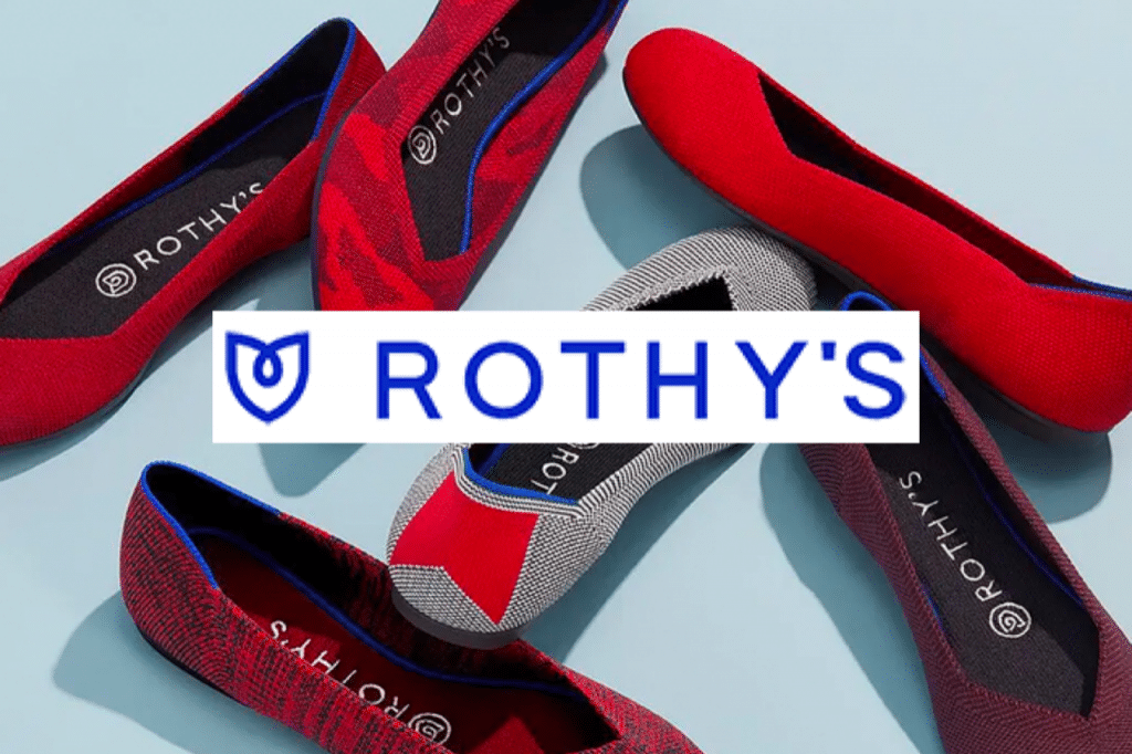 Sustainable shoe brand Rothy's