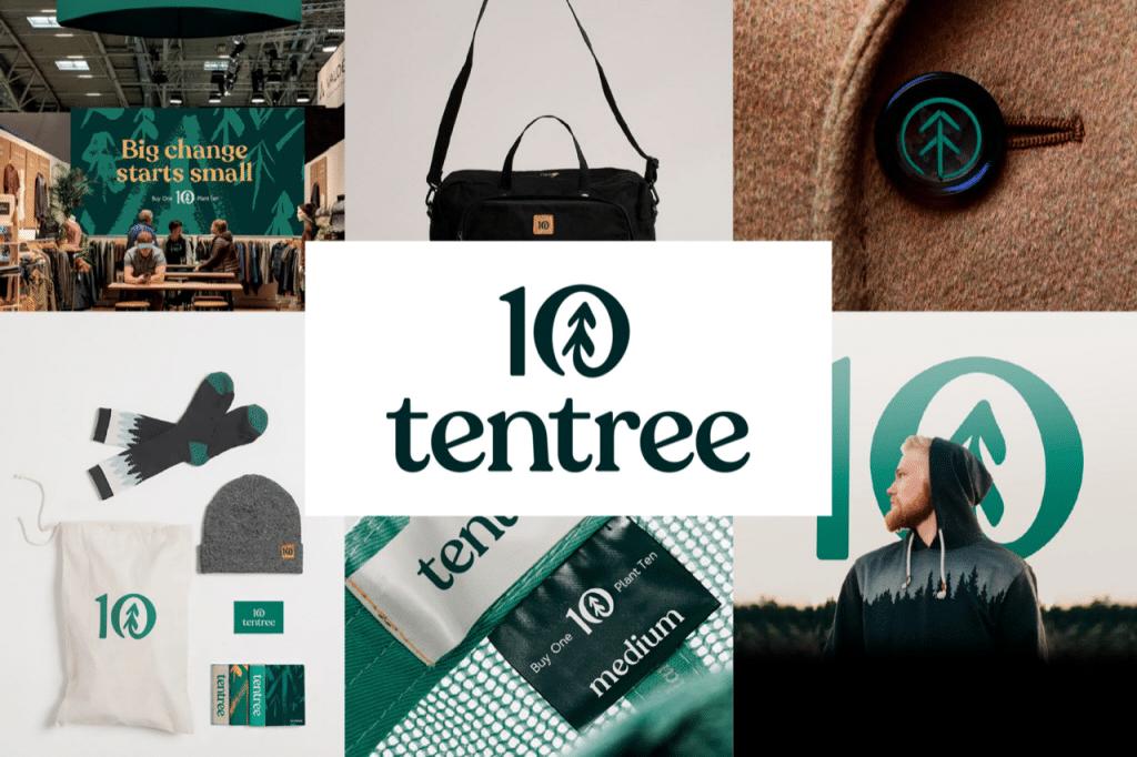 Sustainable brand Tentree