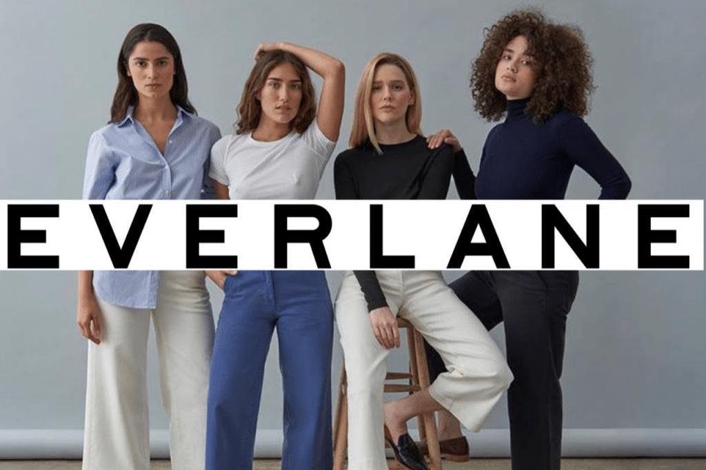 Sustainable brand Everlane