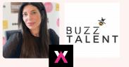Headshot of Helen Giorgio, CEO of Buzz Talent