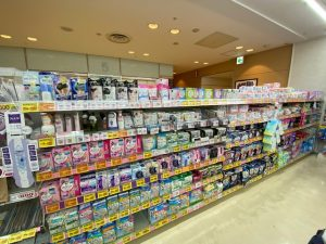 Period Products in Shelves