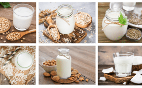 Different kinds of milk